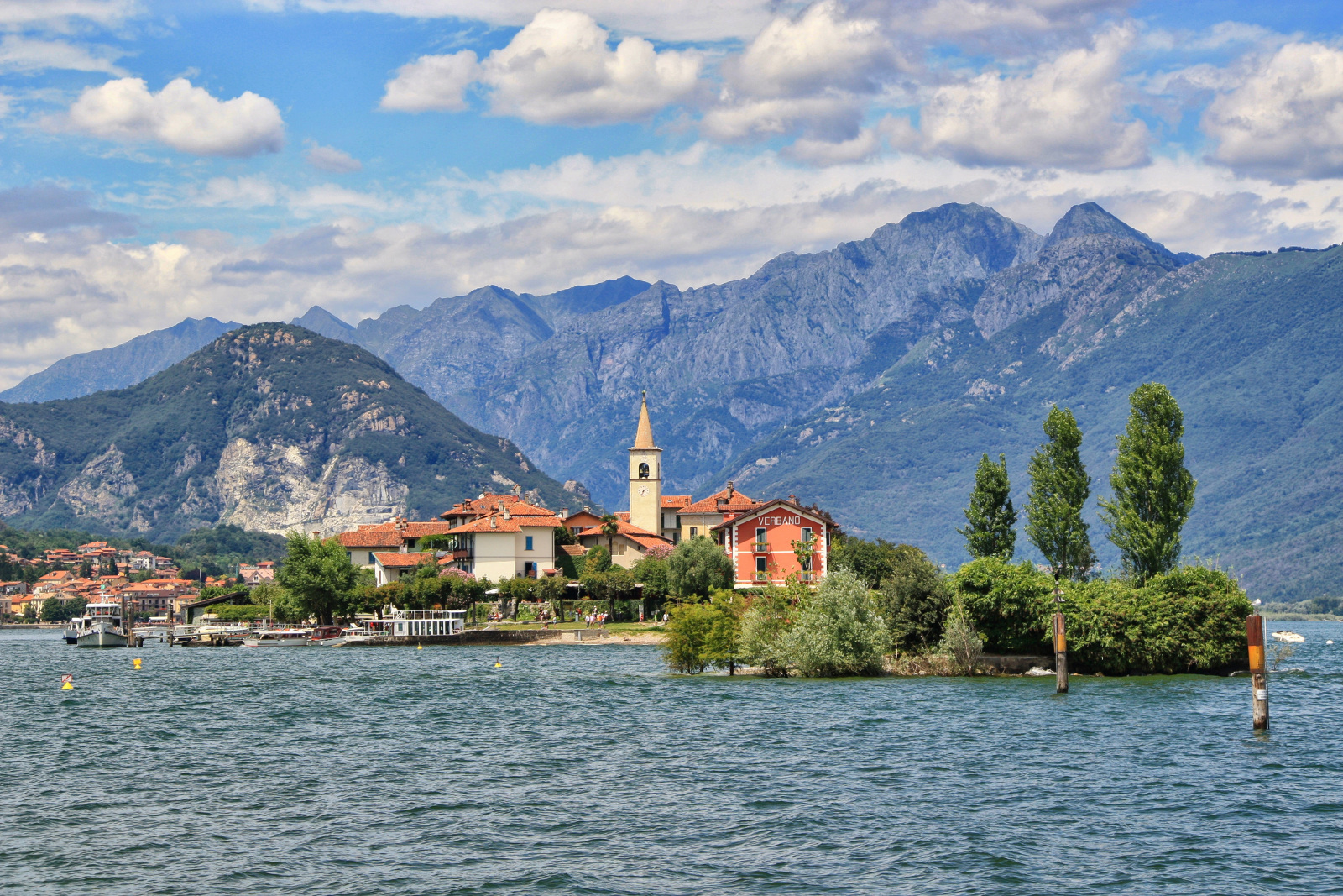 Isola dei Pescatori, Lago Maggiore, Milano, Italy