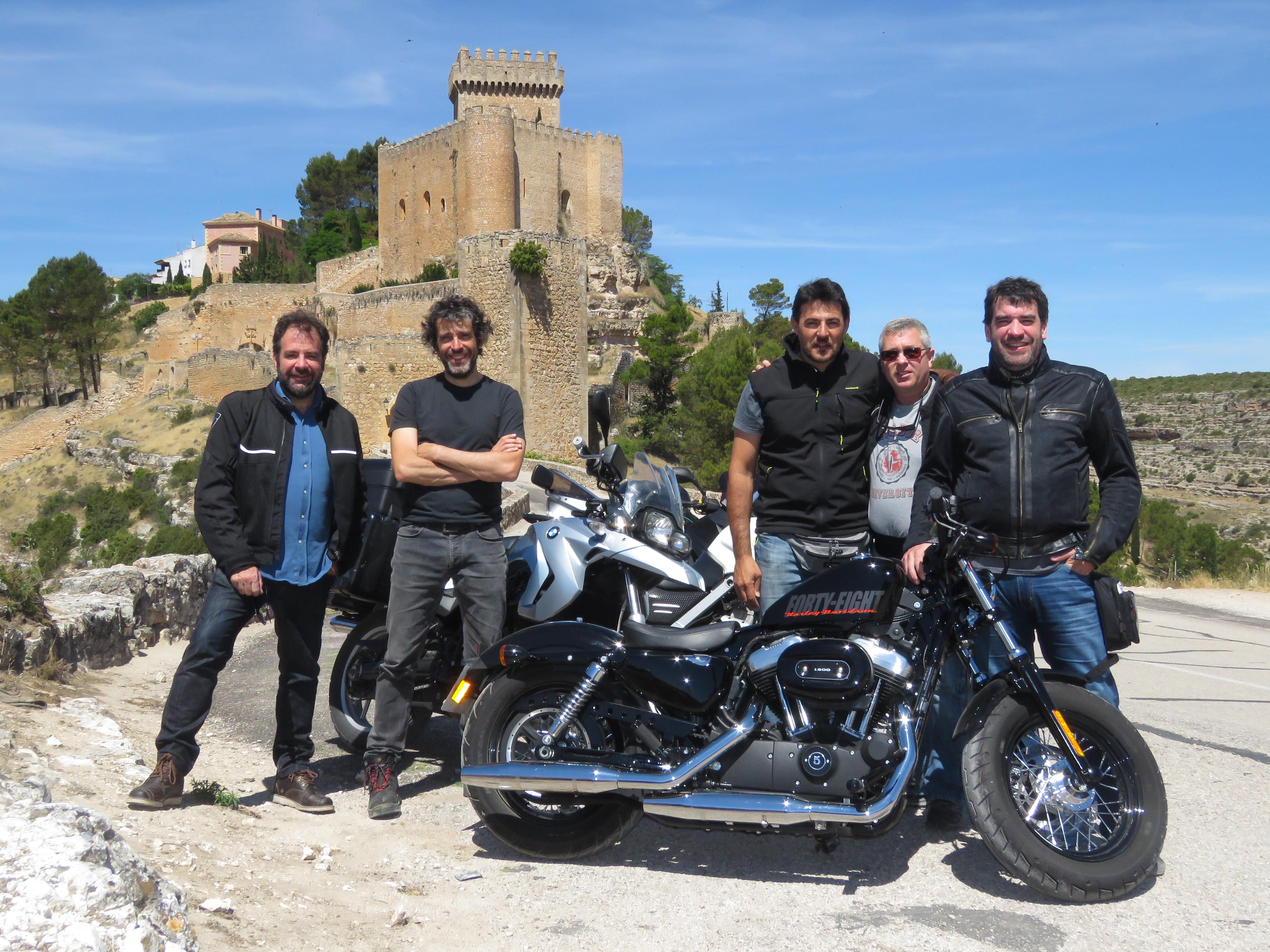 Compartiendo pasión con grandes amigos, Alrarcón, Cuenca