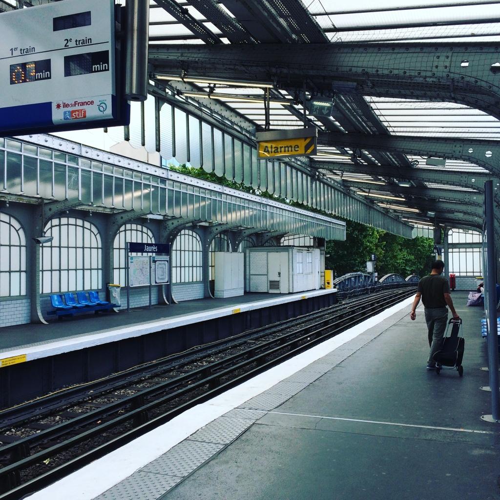 Metro à Paris