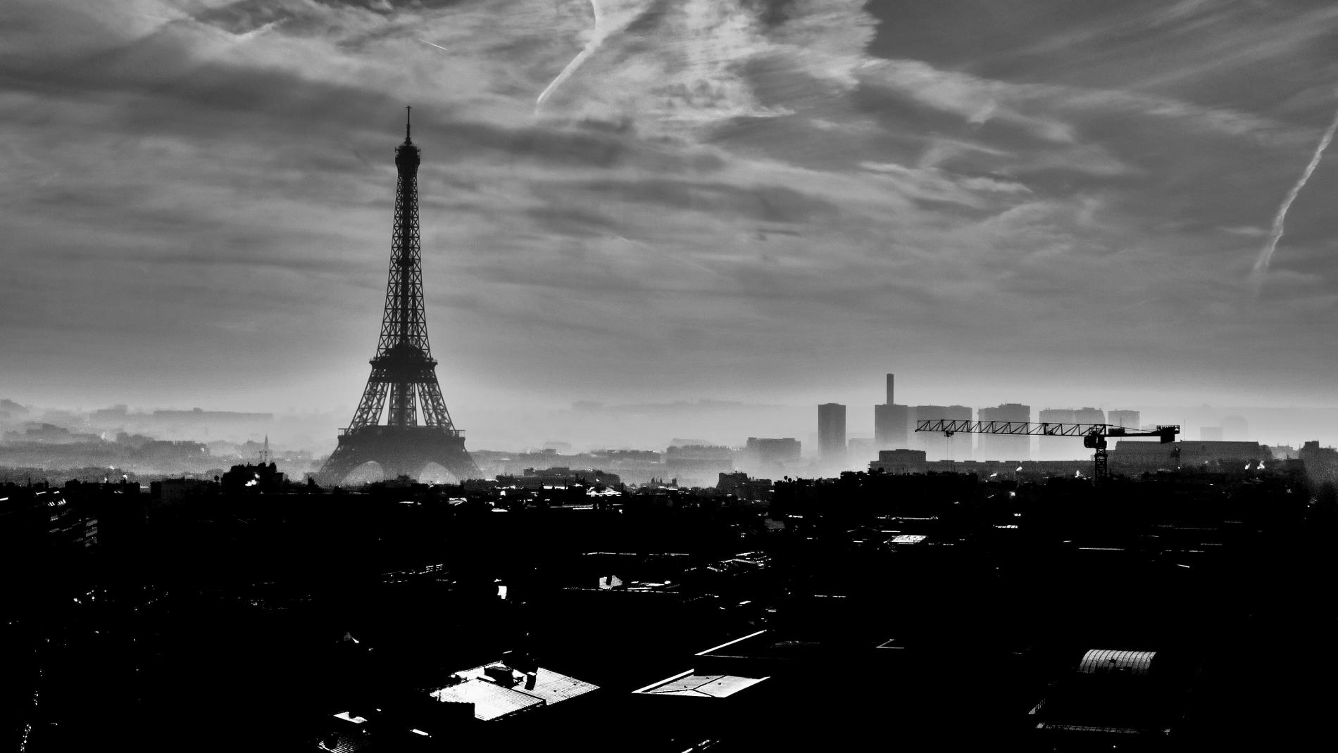 Torre Eiffel desde el Arco del Triunfo, París