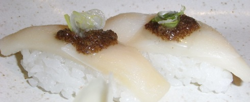 Nigiri de Pez Mantequilla con Trufa